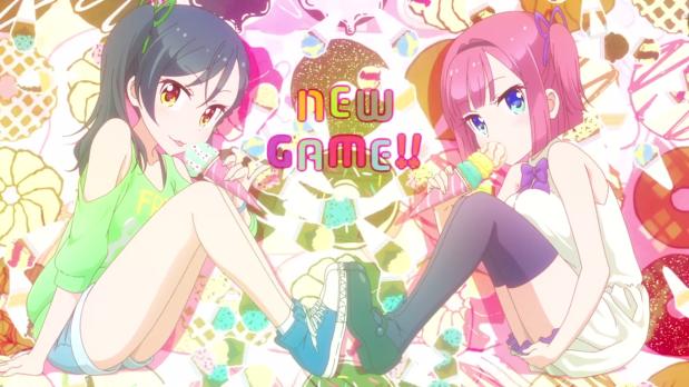 New Game!! – Aoba y compañía lo volvieron ahacer.